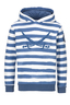 Kinder Hoody STRIPES , BLUE, 104/110