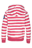 Kinder Hoody STRIPES , PINK, 104/110