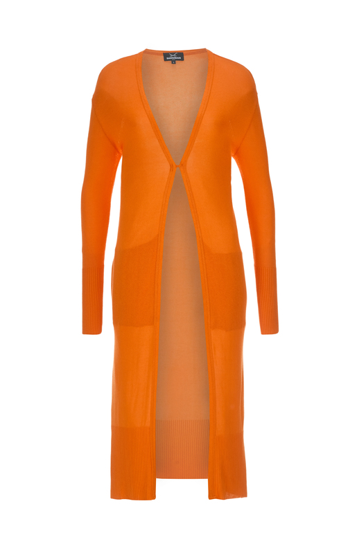 Damen Cardigan , ORANGE, S