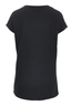 Damen T-Shirt DEVORÈ SKULL , BLACK, S