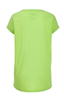 Damen T-Shirt DEVORÈ SKULL , NEON GREEN, L