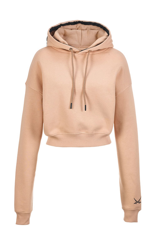 Damen Hoody SANSIBAR , MAPLE SUGAR, XXS