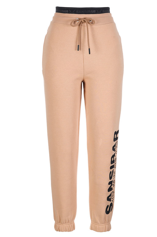 Damen Sweatpants SANSIBAR , MAPLE SUGAR, XL