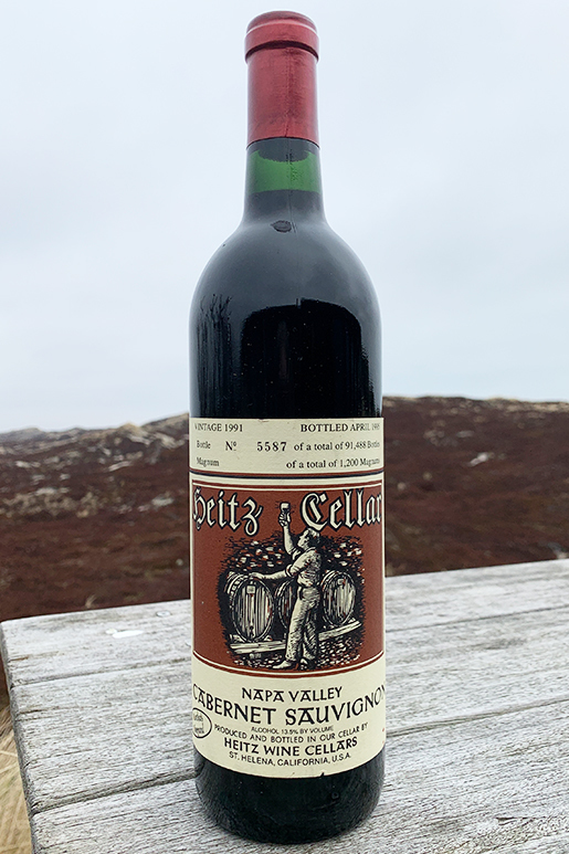 1991 Heitz Cellar Martha´s Vineyard Cabernet Sauvignon  0,75l
