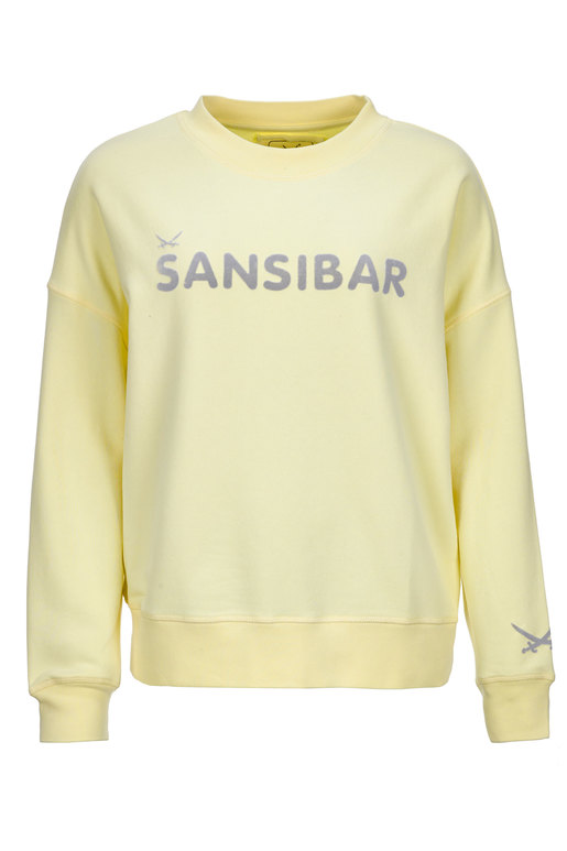 Damen Sweater LOGO , YELLOW, XS