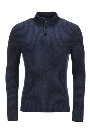 FTC Herren Pullover Troyer , DARK DENIM, XXXXL