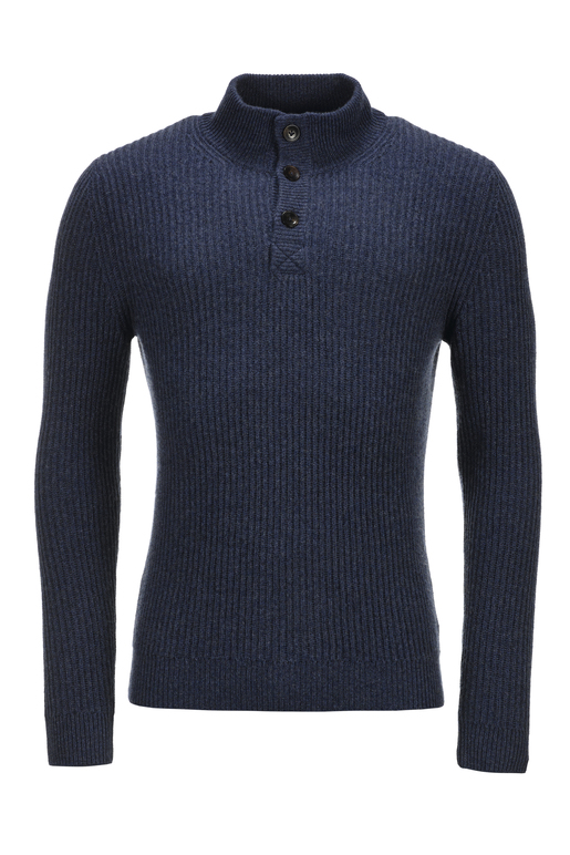 FTC Herren Pullover Troyer , DARK DENIM, S