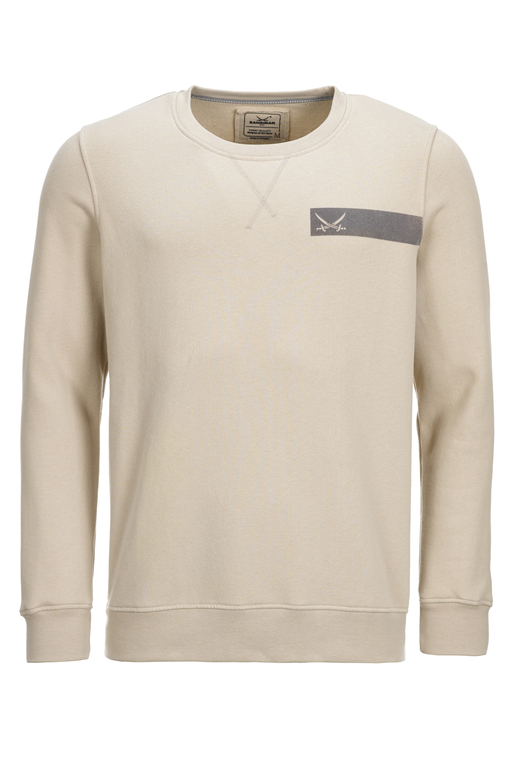 Herren Sweater PHOTO , SAND, M