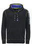 Herren Hoody BEACH OFFICE , BLACK, M