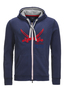 Herren Sweatjacke PLACE TO BE , NAVY, L