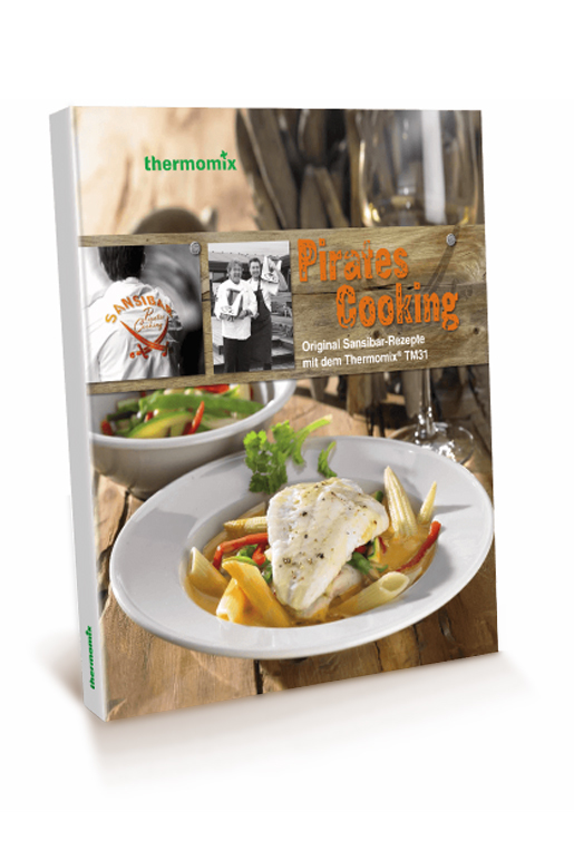 "2010er Thermomix das Kochbuch: ""Pirates Cooking"""