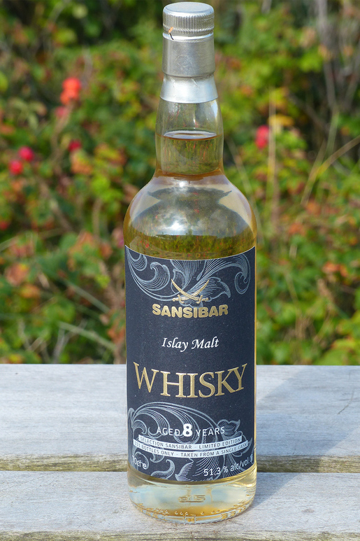 Sansibar Whisky Islay Malt 2007 331 Fl. 51,3% 0,70Ltr