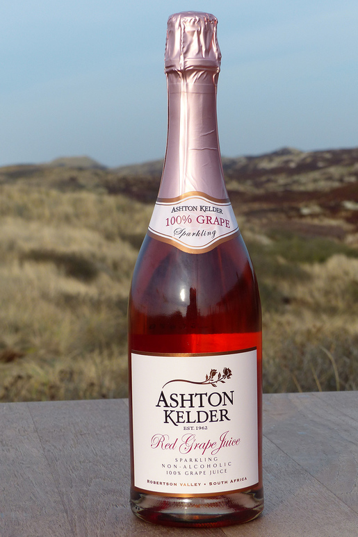 Ashton Kelder Winery Sparkling Grape Juice ohne Alkohol 0,0 %Vol 0,75Ltr