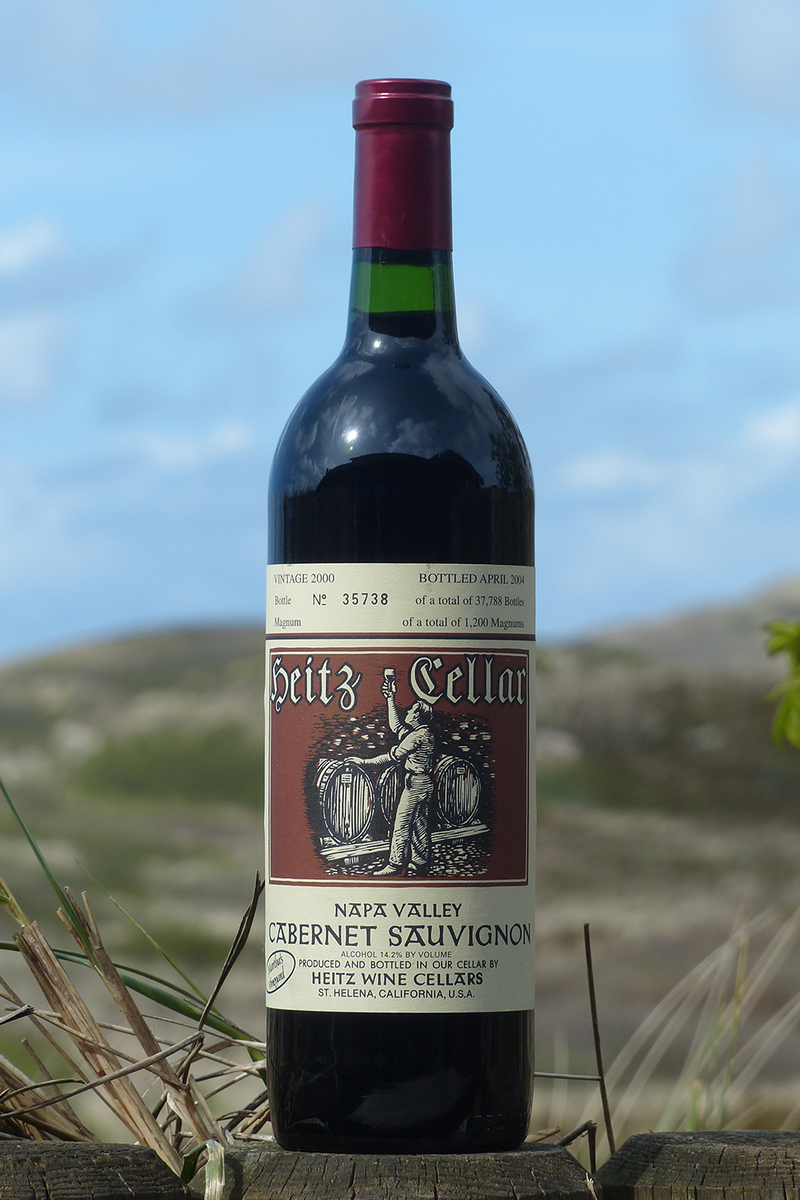2000er Heitz Cellar Martha´s Vineyard Cabernet Sauvignon 14,5 %Vol 0,75Ltr