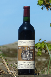 1980er Heitz Cellar Martha´s Vineyard Cabernet Sauvignon 13,5 %Vol 0,75Ltr