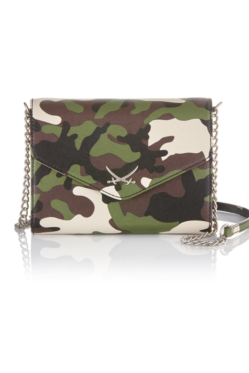 B-881 BS Clutch Bag, Khaki, Gr. one size