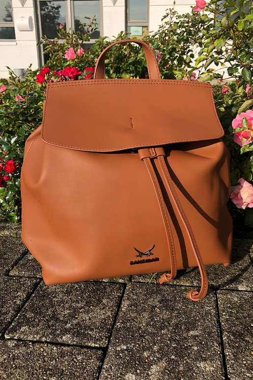 SB-2064-006 Backpack , ONE SIZE, COGNAC
