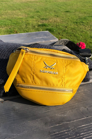 SB-1270-014 Belt Bag , one size, YELLOW