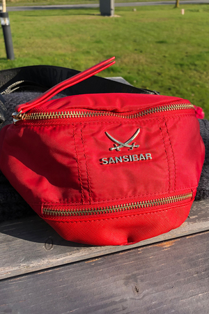 SB-1270-019 Belt Bag , one size, RED