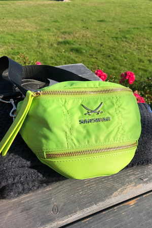 SB-1270-062 Belt Bag , one size, LIME