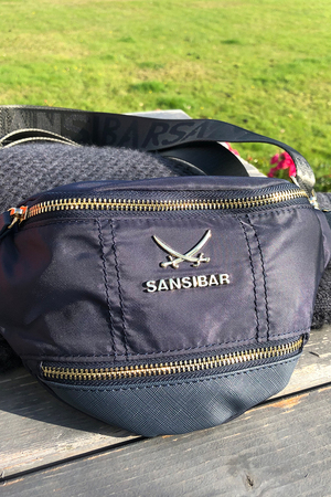 SB-1270-106 Belt Bag , one size, NAVY