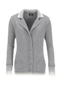 Damen Strickjacke Art. 901, Grey, Gr. S XXXL