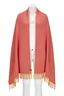 Damen Schal Art. 911, Pink/ orange, Gr. one size