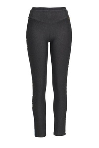 Damen Leggings Stretch, Anthramelange, Gr. XS