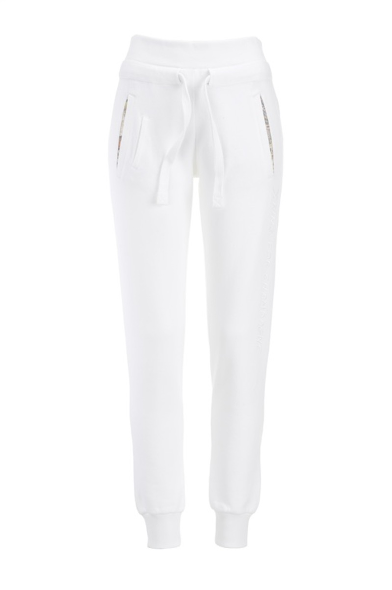 "Damen Sweatpant ""Ring for Champagne"", White, Gr. XXXL"