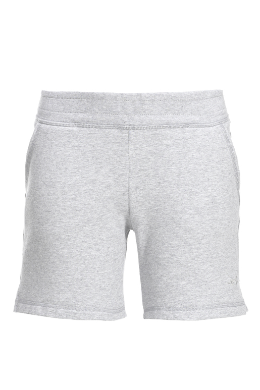 Girls Sweatshorts , SILVERMELANGE, 104/110