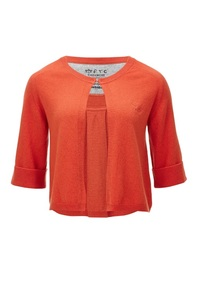 FTC Damen Cardigan (HS1075), Coral red, Gr. XL