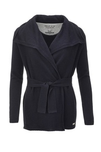 FTC Damen Cardigan (HS1071), Midnight blue , Gr. L