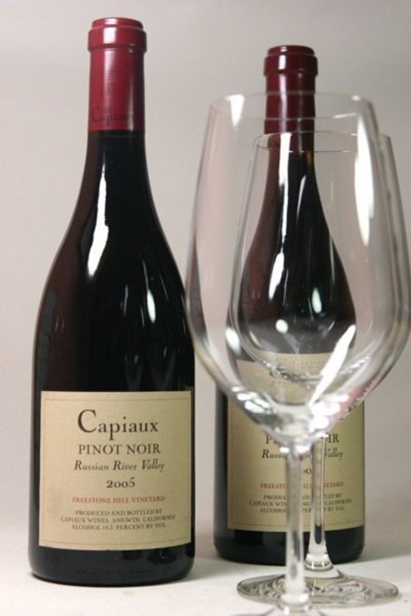 "2005er Capiaux Cellars Pinot Noir ""Freestone Hill Vineyard"" 14,5 %Vol"