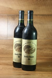 "1995er Diamond Creek Cabernet Sauvignon ""Gravelly Meadow"" 12,5 %Vol"