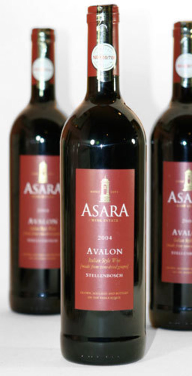 2004er Asara Avalon 16,5 %Vol