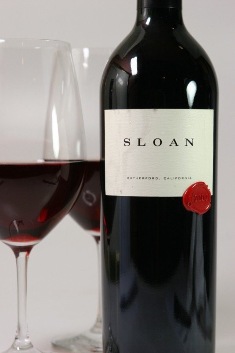 "2000er Sloan ""Red"" Cabernet Sauvignon Rutherford 0,75Ltr"