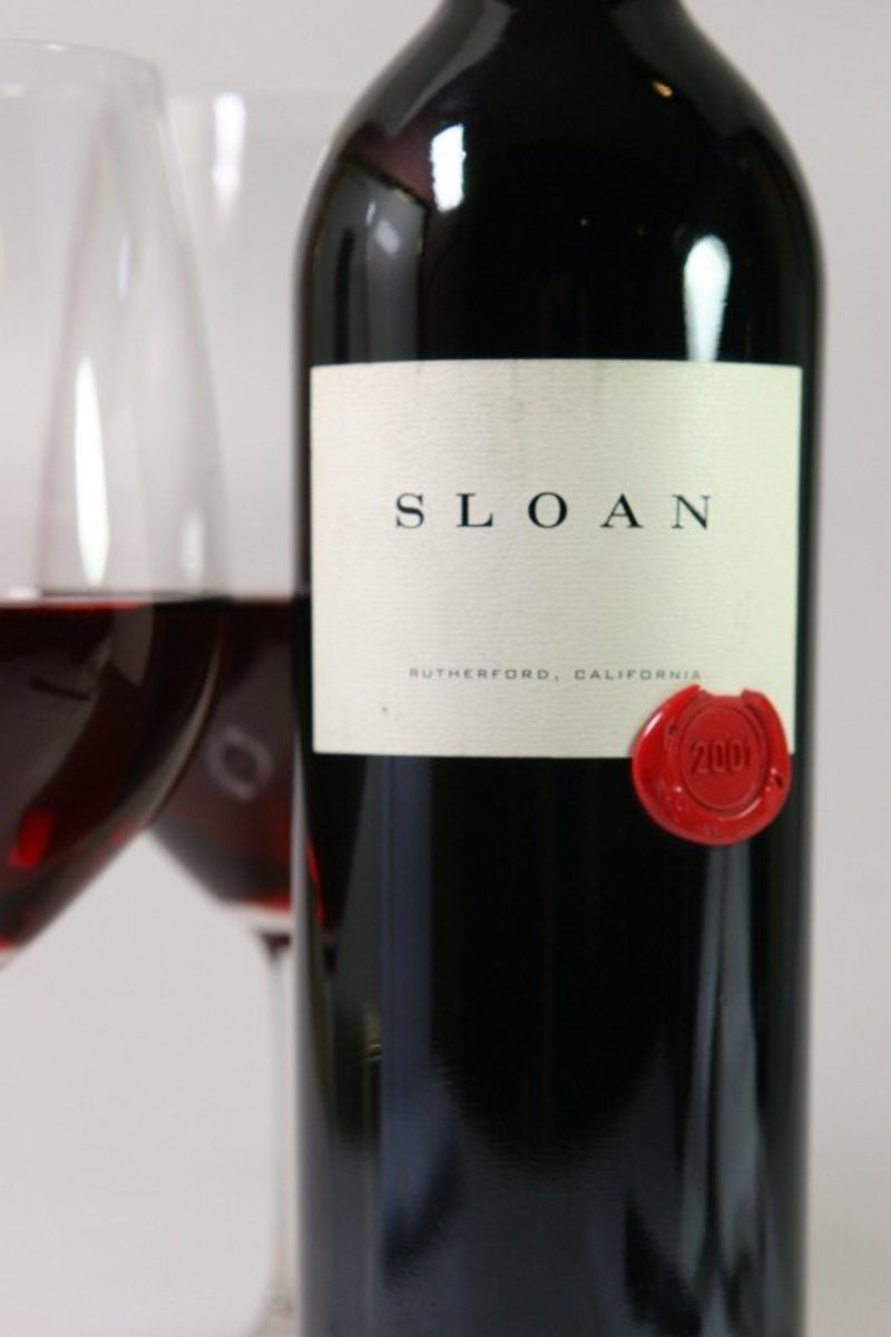 "2001er Sloan ""Red"" Cabernet Sauvignon Rutherford 0,75Ltr"
