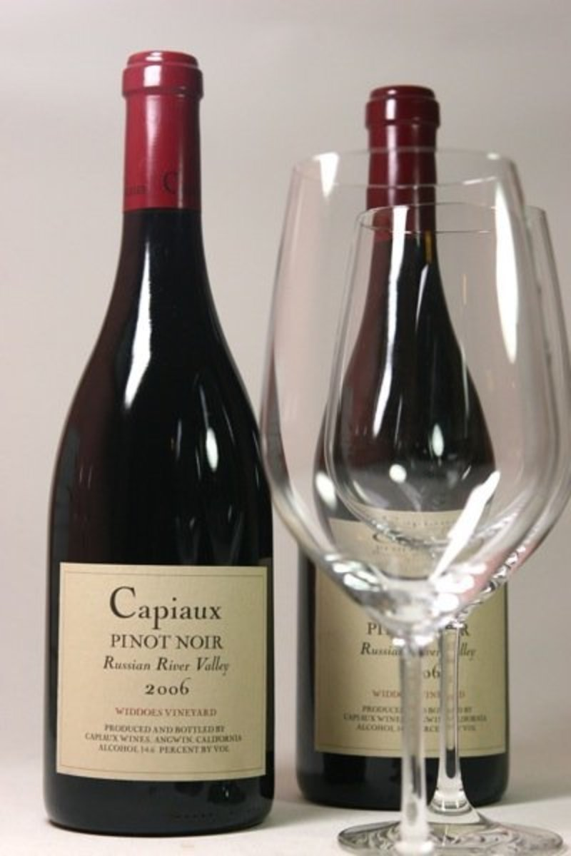 "2006er Capiaux Cellars Pinot Noir ""Widdoes Vineyard"" 0,75Ltr"