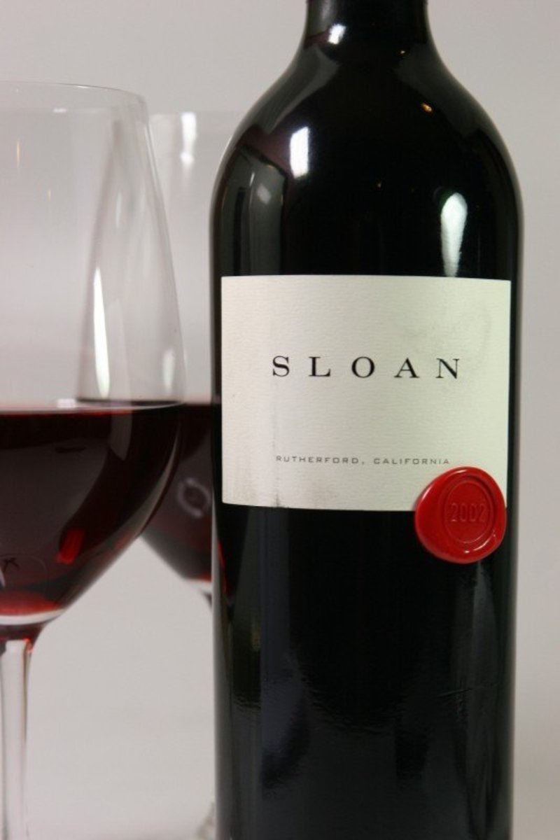 "2002er Sloan ""Proprietary Red"" Cabernet Sauvignon Rutherford 0,75Ltr"