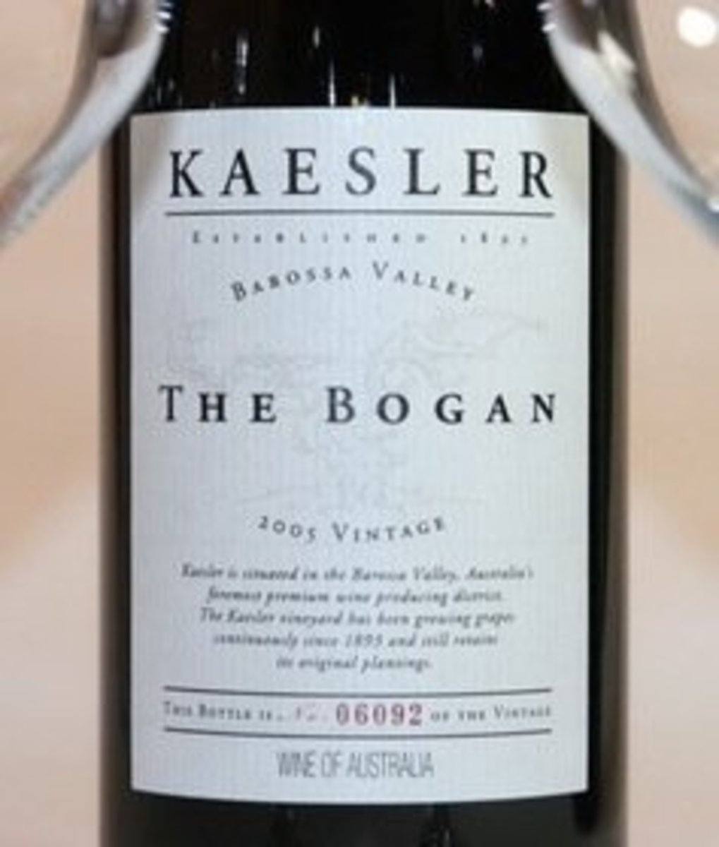 "2006er Kaesler Shiraz ""Bogan"" Barossa Valley 0,75Ltr"
