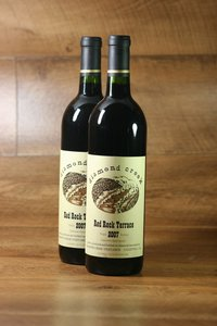 "2007er Diamond Creek ""Red Rock Terrace"" (Cabernet Sauvignon) Diamond Mountain 14,0 %Vol"
