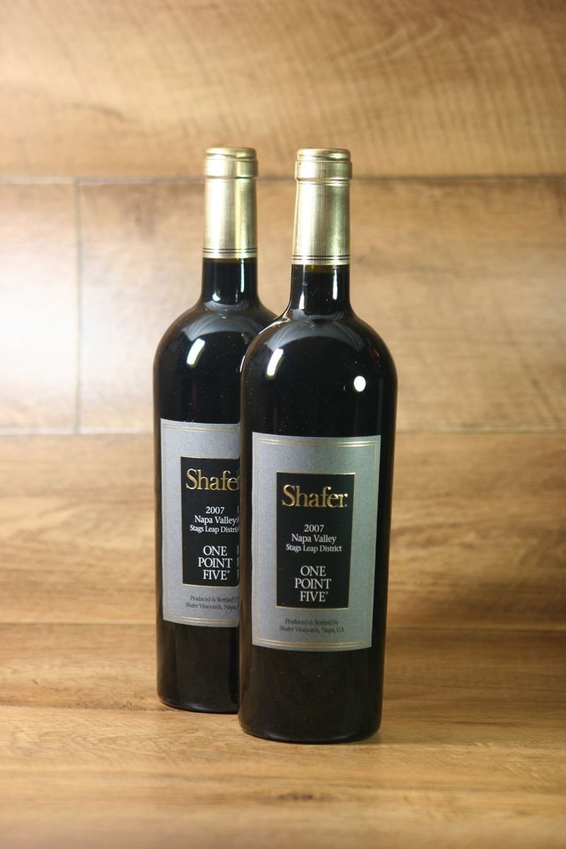 "2007er Shafer ""One Point Five"" Cabernet Sauvignon"