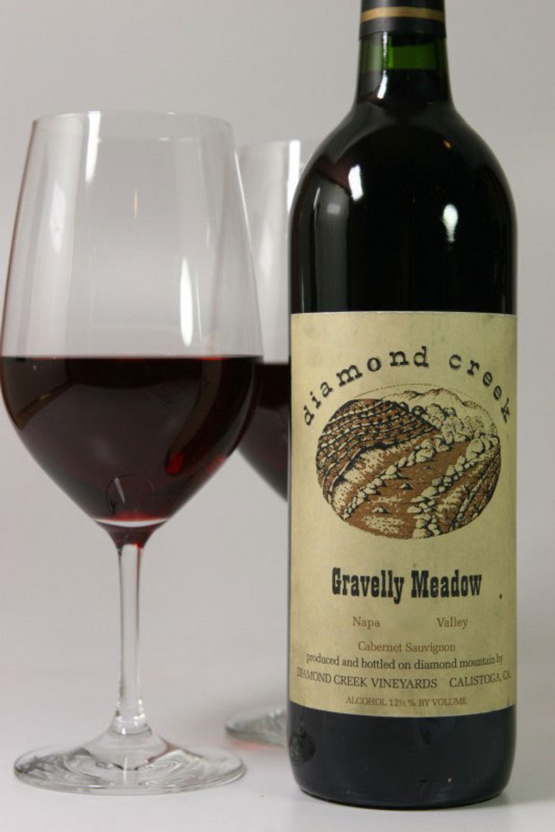 "1998er Diamond Creek ""Gravelly Meadow"" (Cabernet Sauvignon) Diamond Mountain"