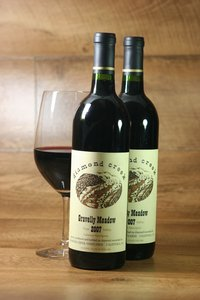 "2008er Diamond Creek ""Gravelly Meadow"" (Cabernet Sauvignon) Diamond Mountain"