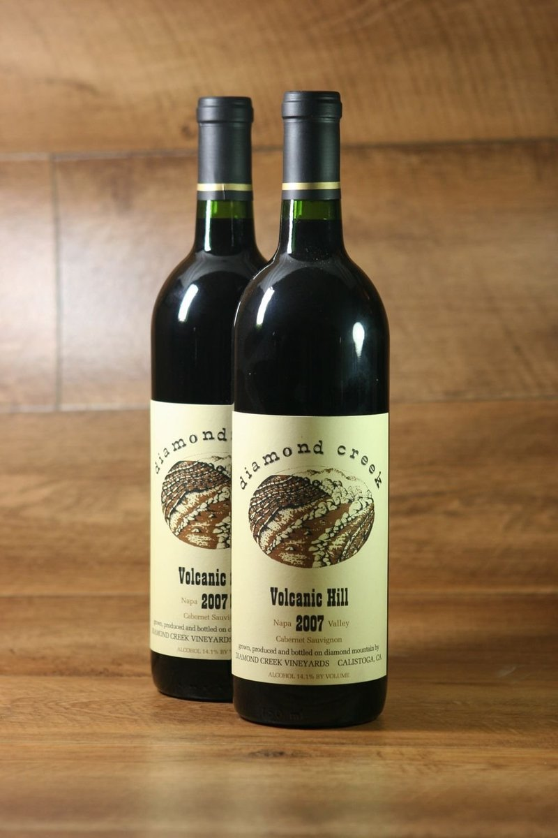 "2008er Diamond Creek ""Volcanic Hill"" Cabernet Sauvignon Diamond Mountain"