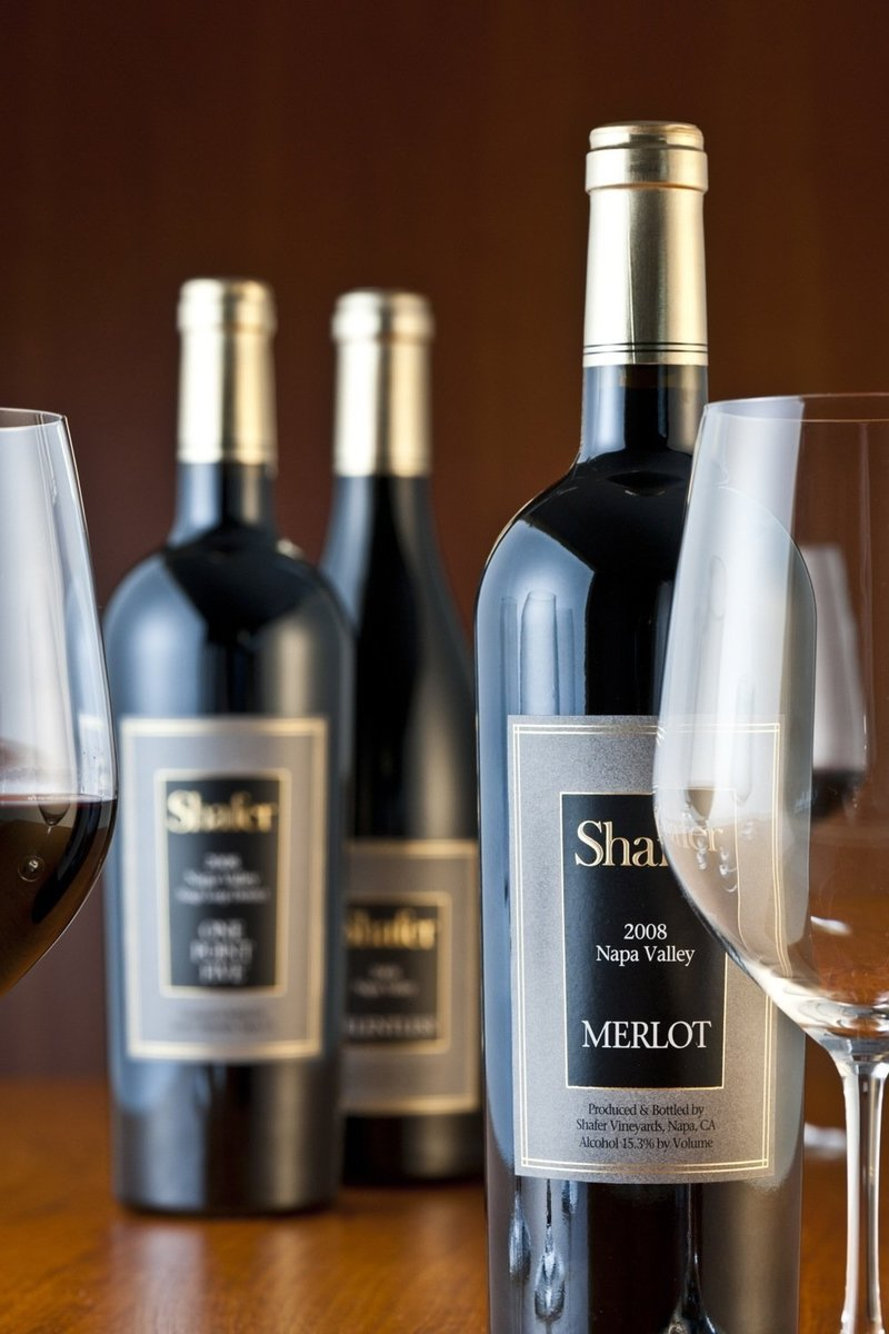 2008er Shafer Merlot 0,75 Ltr