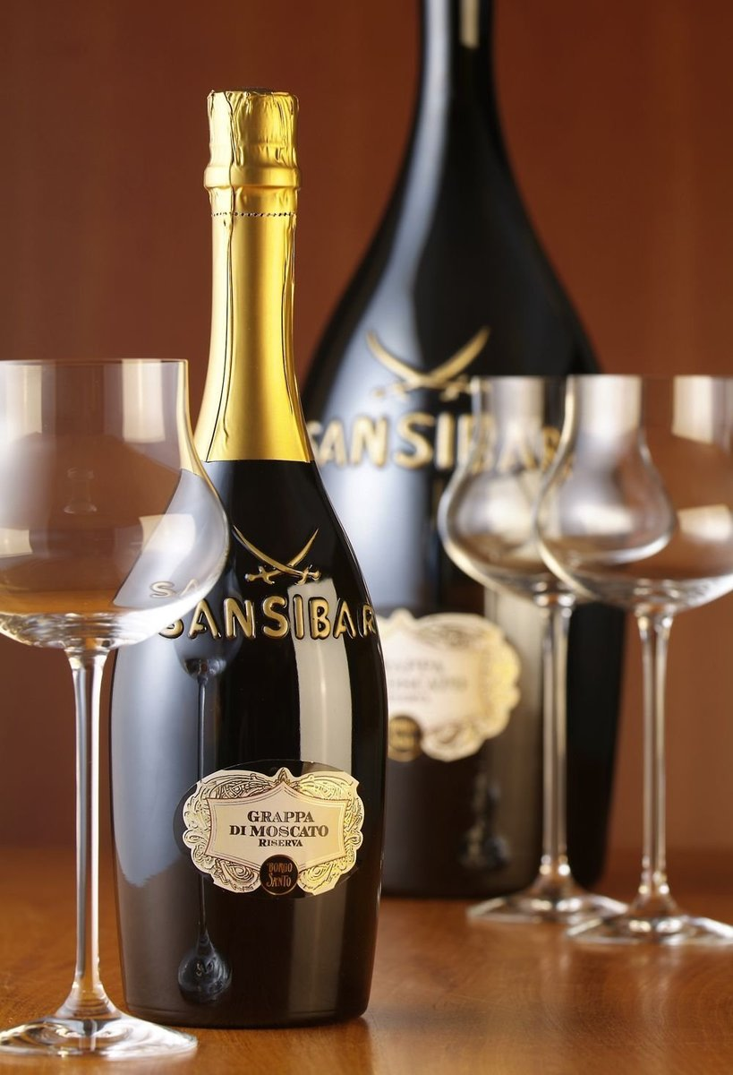 "Grappa di Moscato ""only Sansibar"" ohne Holzkiste 0,70Ltr  42,0 %Vol"