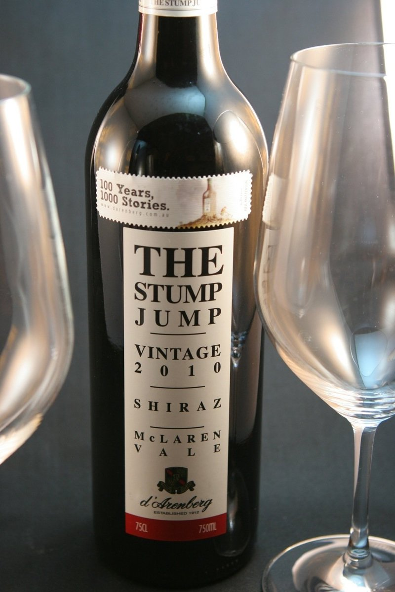 2010er D´Arenberg Winery The Stump Jump Shiraz 0,75Ltr