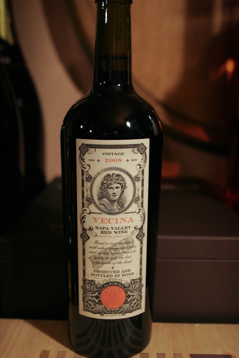 "2008er The Bond Estates ""Bond Vecina"" 0,75Ltr"