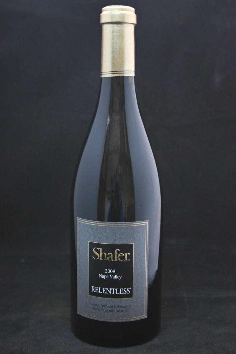 "2009er Shafer Syrah ""Relentless"" 0,75Ltr"